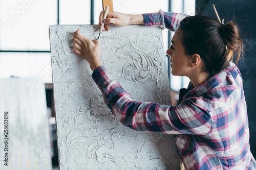 Fotografía  Plaster texture artwork