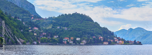 Stampa su Tela Beautiful view of Lake Como