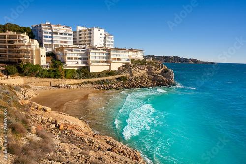 Foto auf AluDibond Südeuropa Cala Llenguadets Salou Platja beach Tarragona