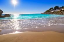 Cala Crancs Salou Beach In Tar...