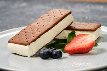 Vanilla Ice Cream With Cookies...