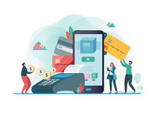 Online Payment With Smartphone...