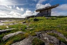 Poulnabrone Dolmen Tomb, Burre...