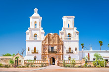 Mission San Xavier Del Bac In ...