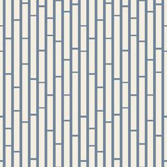 Blue & white geometric rectangles seamless vector pattern