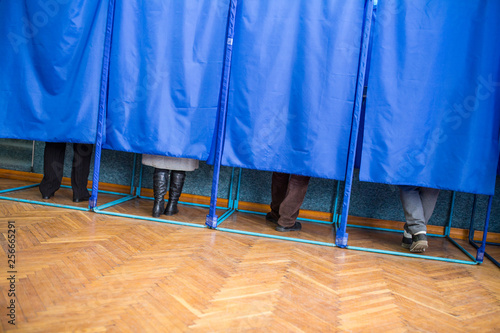 Fotografie, Tablou Illustrative image of the election in a democratic society
