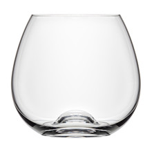 Single Empty Cognac Glass