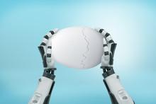 3d Rendering Of Robotic Hands ...