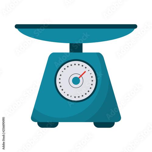 Carta da parati Food scale balance symbol