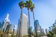 Los Angeles, California, USA downtown cityscape