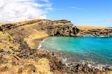 The Beautiful Green Sand Beach...