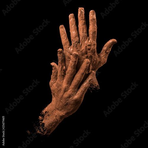 Valokuva  clay hands