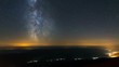 4K Astro Time Lapse Of Moonset And Milky Way
