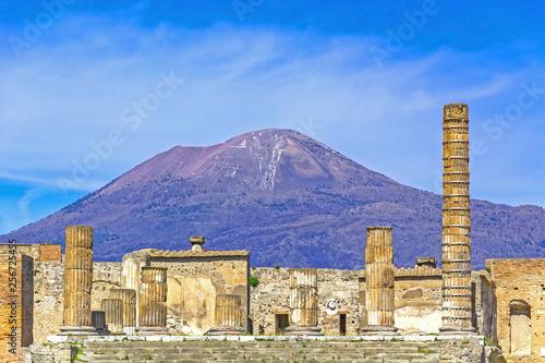 Fotografia Pompeii, ancient Roman city in Italy