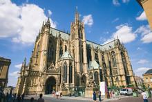 Cathédrale De Metz En Lorrai