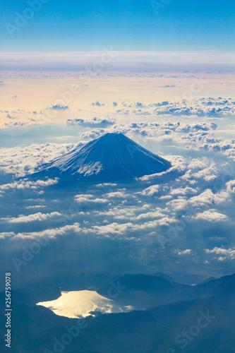 Poster UFO 上空からの富士山