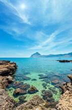 Cala Di Punta Lunga Coast, Macari, Sicily, Italy