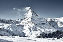 Matterhorn Mountain Covered By...