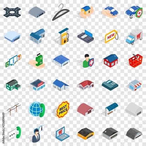 Fotografía  Deposit account icons set