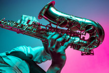 African American Handsome Jazz...