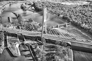 Fototapeta Miasta Most Rędziński Wrocław