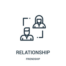 Relationship Icon Vector From ...