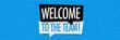 Leinwanddruck Bild - Welcome to the team