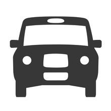 Taxi Icon Vector - Vector Illu...
