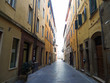 Street of the city center of Umbertide in Umbria, Italy.