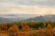 Warm Golden autumn in the mountains of the southern Urals. A great time for photographers and artists.