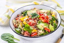 Quinoa Salad With Fresh Vegeta...