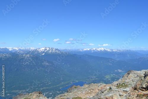 mountain lake in the mountains