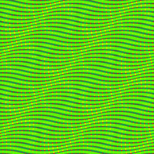 Snake Print. Lizard Skin Seamless Pattern. Op Art Background. Optical Illusion Of Movement.