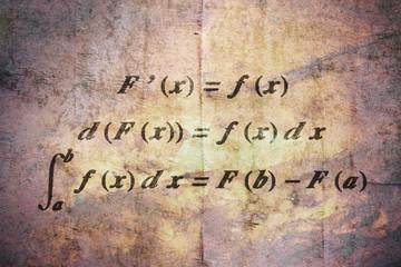 Fundamental calculus theorem