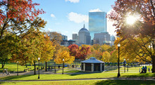 Boston Common In The Fall With...