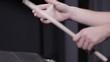 The bearded drummer