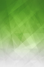 Abstract Green And White Backg...