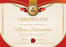 Official Retro Certificate Wit...