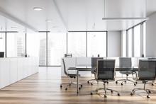 Modern White Empty Office Inte...