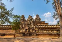 Ta Keo Temple Ruins At Angkor, Siem Reap Province, Cambodia