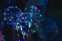 Transparent Balls With A Garla...