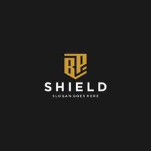 Bp Letter Shield Icon