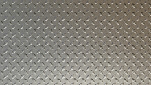 Steel Sheet With Corrugation. Leaf Lentils. Anti-slip Safety Sheet From Falling. 3D Rendering