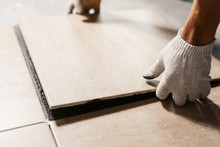 The Hands Of The Tiler Are Lay...