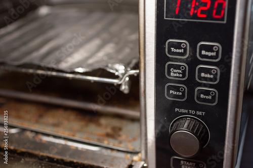 Fotografie, Obraz  A closeup shot of a convectional oven