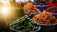 Vegetables At A Farmers Market