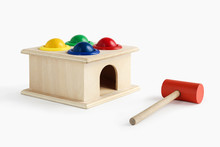 Wooden Colorful Toys Hummer An...