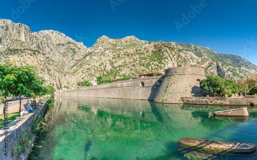 Foto Bastion Riva in Kotor Old Town, Montenegro