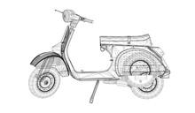 Vector Motorcycle 3D