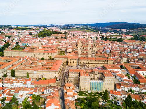 Fotomural Santiago de Compostela in Galicia, Spain